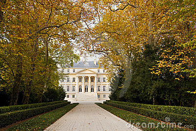 Chateau Margaux in Bordeaux, France