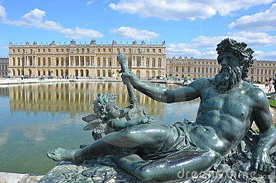 Chateau Versailles in France