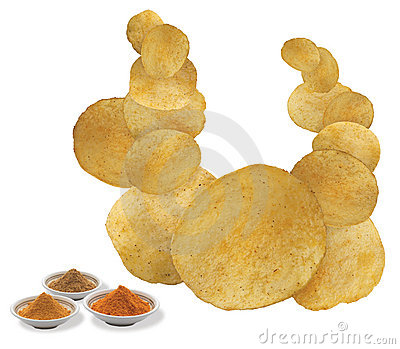 ChatPata Masala flavored chips