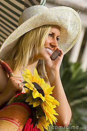 Free Chatting In The Sunshine Stock Image - 3608091