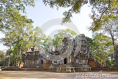 Chau Say Tevoda Temple, Cambodia