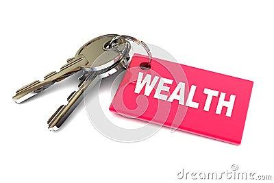 Chaves à riqueza