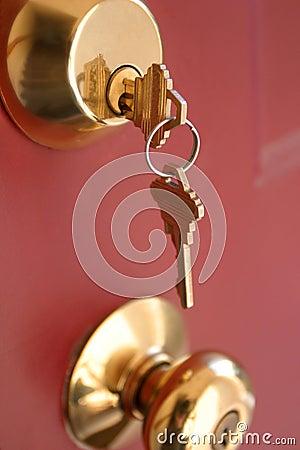 Chaves da porta