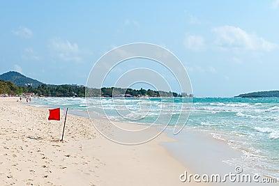 Chaweng beach on Samui island, Thailand Editorial Photo