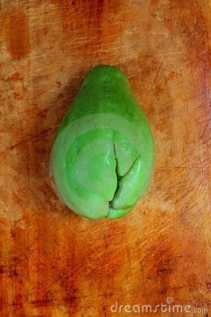 Chayote mango squash mirliton vegetable