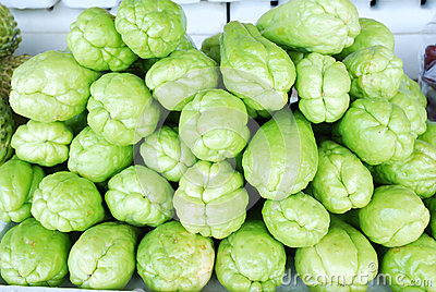 Chayote vegetables