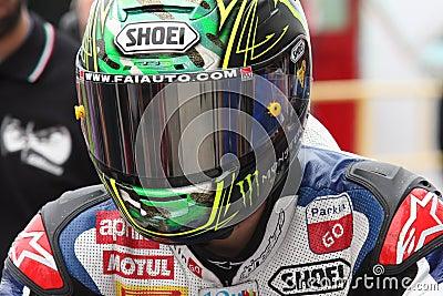 Chaz Davies - Aprilia RSV4 - ParkinGO MTC Racing Editorial Image