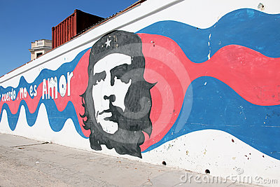 Che Guevara Graffiti Editorial Photography