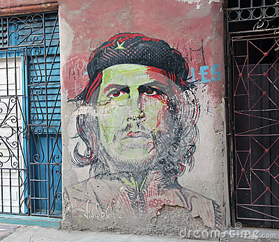 Che Guevara graffiti Editorial Photo