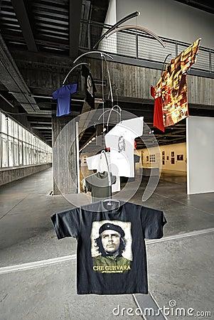 Che on Tshirt Editorial Image