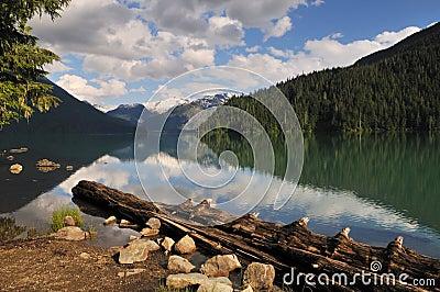 Cheakamus lake, garibaldi provincial park