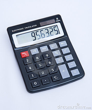 Stock Photos: Cheap solar powered electronic calculator.: www.dreamstime.com/stock-photos-cheap-solar-powered-electronic...