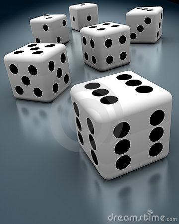 Free Cheating Dices Royalty Free Stock Photography - 4818757