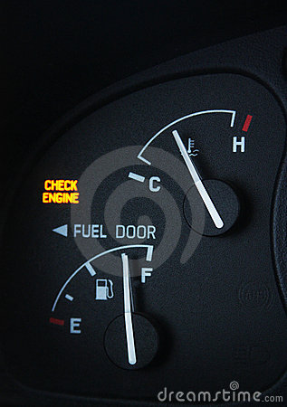 Free Check Engine Light Stock Photo - 8469300