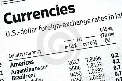 Check the foreign exchange rates