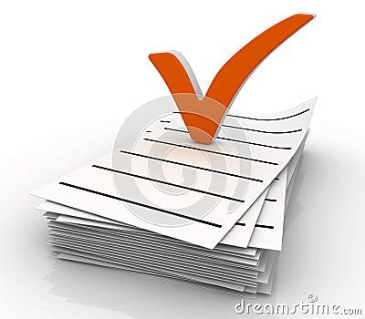 Check list symbol