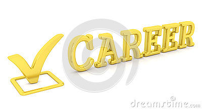 Check mark and career