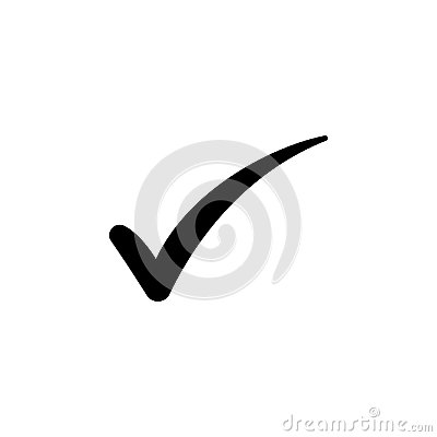 Check mark symbol, vector Vector Illustration