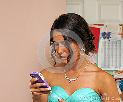 Check messages before prom