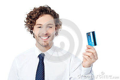 Check out my new exclusive credit card