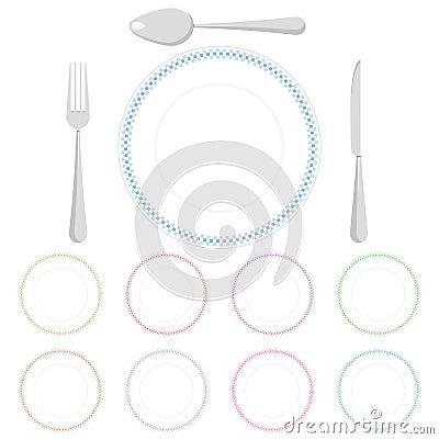 Check pattern plates
