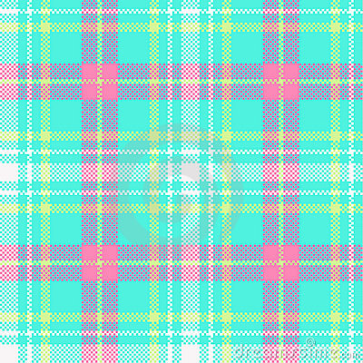 Check plaid tartan design
