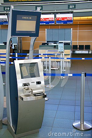 Check-in terminal