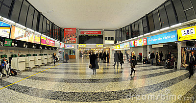 Check-in in Vienna airport Editorial Photography
