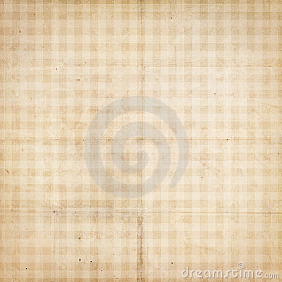 Checked antique vintage textured paper with checks