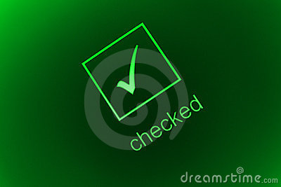 Checked box