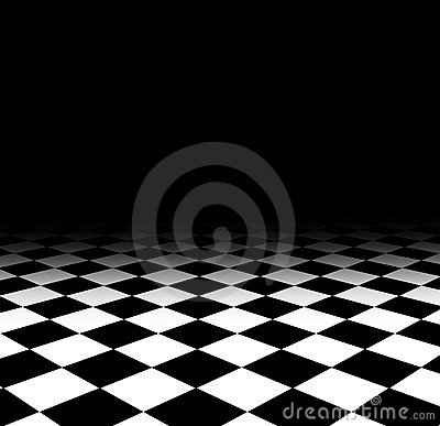 Checked floor