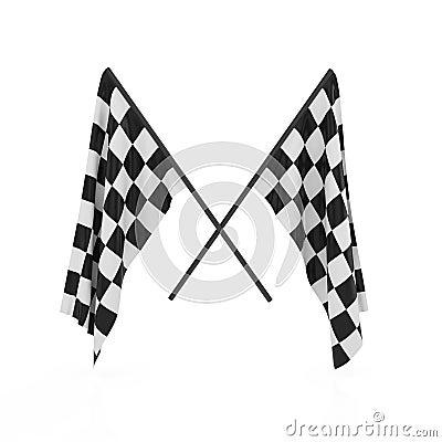 Checker flags
