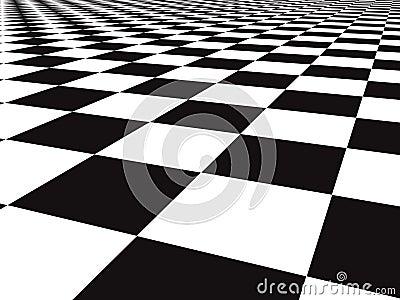 Checker floor