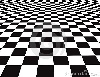 Checker Floor Royalty Free Stock Graphy Image