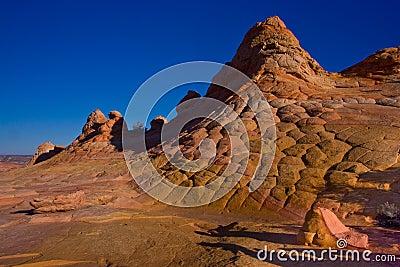 Checkerboard Sandstone Butte