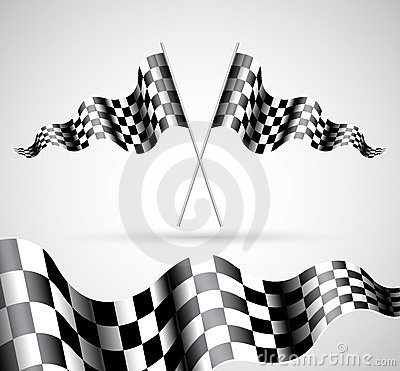 Checkered флаги