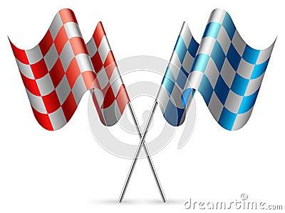 Checkered флаги.