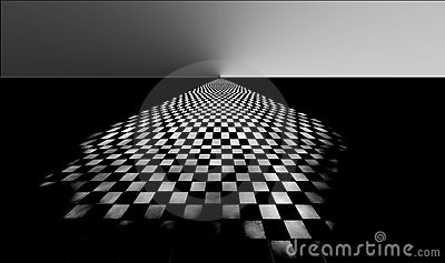 Checkered abstract