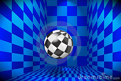 Checkered ball