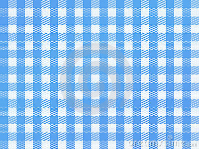 Checkered Bavarian Blue