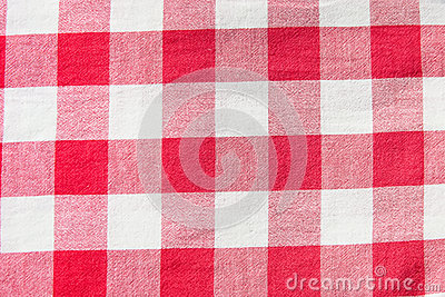 Checkered cloth