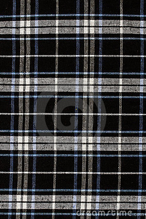 Checkered fabric pattern