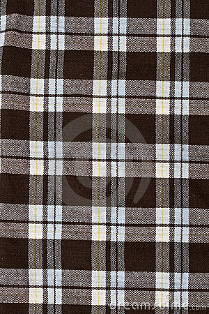 Checkered fabric pattern background