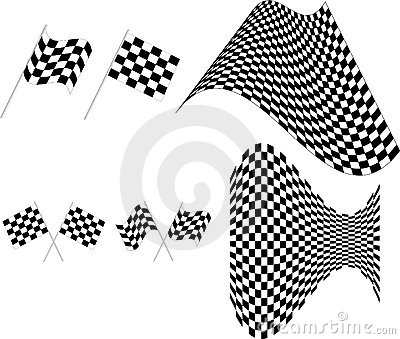 Checkered flag -