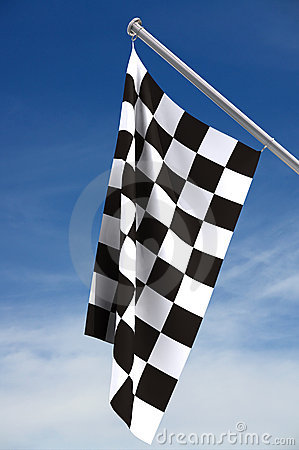 Free Checkered Flag Royalty Free Stock Photography - 2509327