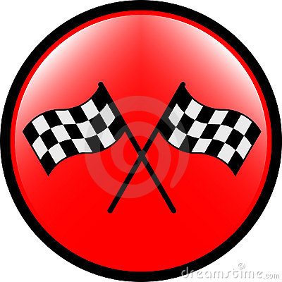 Checkered flag button
