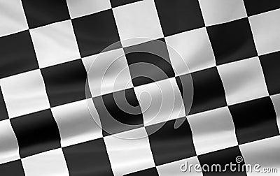 Checkered Flag - diagonal