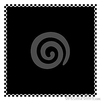 Checkered Frame