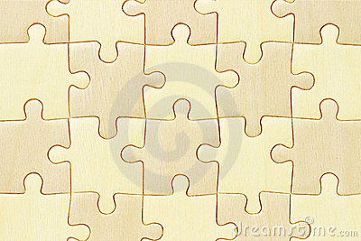 Checkered jigsaw puzzle