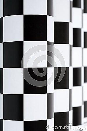 Checkered Kolonnade